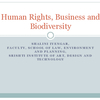 Webinar #2: Human Rights, Business and Biodiversity  (PPT 3)