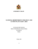Draft National Biodiversity Strategy and Action Plan