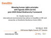 Webinar #1: Introduction to Human Rights and the Environment (PPT 3)