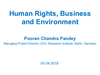 Webinar #2: Human Rights, Business and Biodiversity (PPT 2)
