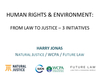 Webinar #3: Human Rights in the Context of  the CBD's post-2020 Strategic Plan (PPT 1)